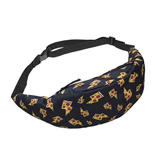 Wlliedyiu 3D Us Dollar Gedruckt GüRteltaschen Geld Taille Taschen Frauen Messenger Bags GüRteltasche Gold (Ein-dollar-gum)