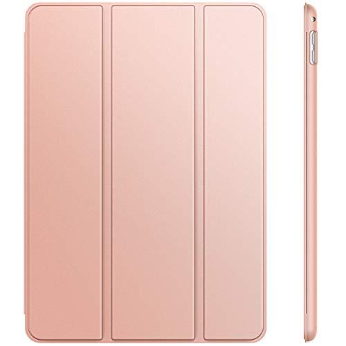 JETech Hülle für iPad Mini 4, Schutzhülle mit Ständer Funktion und Auto Einschlafen/Aufwachen, Roségold