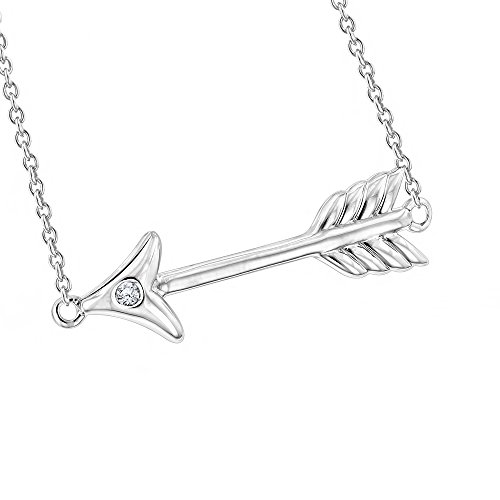 luxurman-love-quotes-necklaces-sterling-silver-diamond-arrow-pendant-001cth-i-colorsi-i-clarity