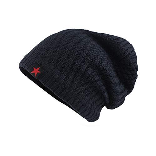 Saingace(TM) Slouch Beanie Mütze Winter Strickmützen | Dicke Weiche Stretch Warme Wintermütze Long Beanie für Herren und - Nähen Sie Ein Kostüm Tragen