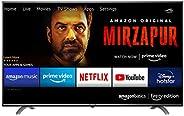 AmazonBasics 109cm (43 inches) Fire TV Edition 4K Ultra HD Smart LED TV AB43U20PS (Black)