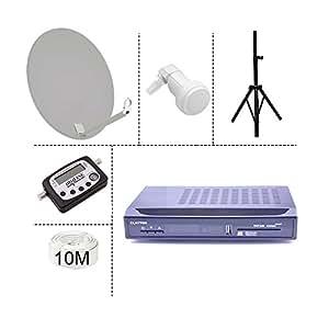 Kit Campingsd - Kit Camping Tntsat 220/12V Demo+Parabole+Trepied+Lnb+Cable Coaxial+Satfinder