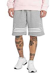 adidas Outline Short Uomo, Medium Grey Heather, L