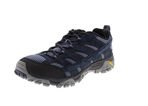 Merrell Mens Moab 2 Vent Breathable Mesh Lined Walking Hiking Shoes