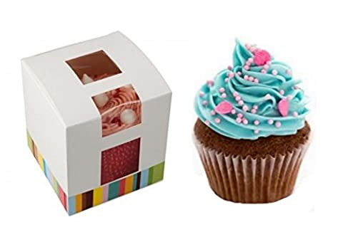 X30~ Single Cupcake Box ~ FAIRY Kuchen Halter ~ Muffin Pod Fall ~ Individuelle Cupcakes (Single Cupcake Box)