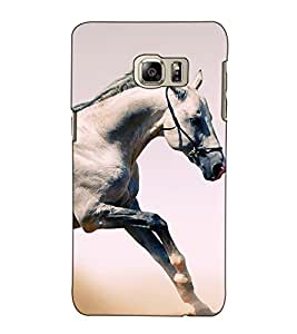 Fuson Designer Back Case Cover for Samsung Galaxy Note 5 :: Samsung Galaxy Note 5 N920G :: Samsung Galaxy Note5 N920T N920A N920I (A horse theme)