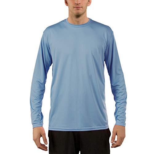 Vapor Apparel Herren UPF 50+ UV Sonnenschutz Langarm Performance T-Shirt X-L Columbia Blau