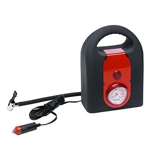 Luftkompressor Kleinkompressor Manometer Bis 20 Bar 20l/min Mini-Luft-Kompressor Kompressor Mini Für 12 Volt Ballpumpe Auto-Kompressor KFZ PKW Tragbar
