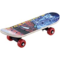 Domenico Fantasy India Wooden Assorted Design Skate Board for Age Group 6-10Yrs 24 X 6 - inches - Assorted Cartoon…