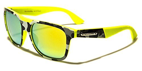 Biohazard -  Occhiali da sole  - Donna giallo YELLOW/YELLOW LENSES