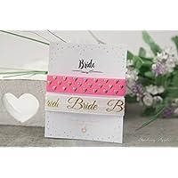 Armband Set - Bride / Hochzeit, JGA, Braut, Junggesellinnenabschied