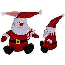 OOTB Peluche Babbo Natale con Cappello Danzante (batterie Incluse) 6ac6c858fad2