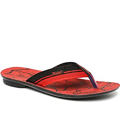 Paragon Men's Red Thong Sandals-6 UK/India (39/40 EU)(PU6705G)