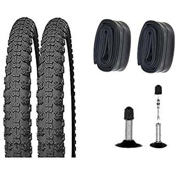 """BMX Kinder Mädchen Kinder Fahrrad Reifen 57-406 2x Blau 20 /"""" x 2.125"""