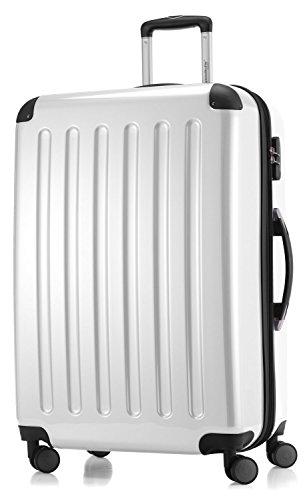 Hauptstadtkoffer coque série alex valise à roulettes 119 l 20 reisegutschein-blanc brillant