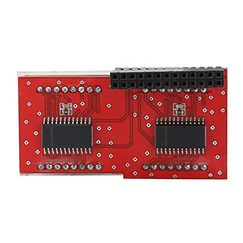 8x8 LED-Punktmatrixmodul, Common Shade Red Dot Matrix MAX7219 Chip LED-Punktmatrixmodul für Raspberry Pi -