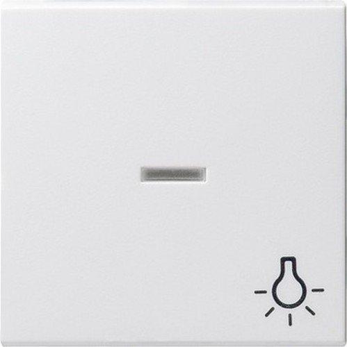 Gira 067403 Wippe Kontroll Symbol Licht System 55, reinweiß -