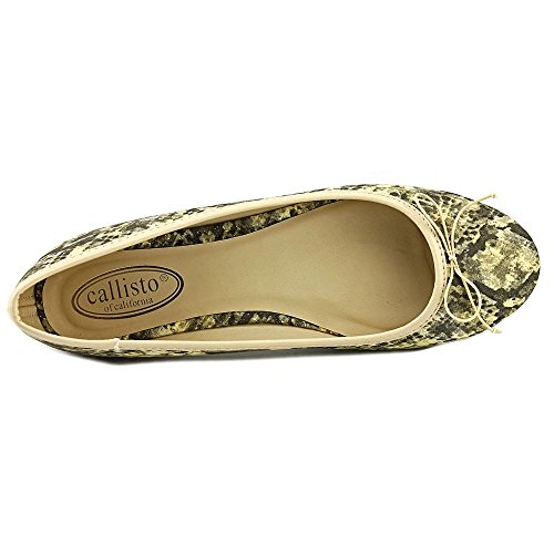 Callisto Mylo Femmes Synthétique Chaussure Plate Nat Snake