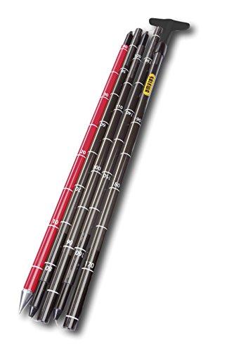 Salewa Lightning Carbon 320 PRO Probe - Lawinensonde, Unisex, Schwarz, Einzelgröße (Carbon Ski Freeride)