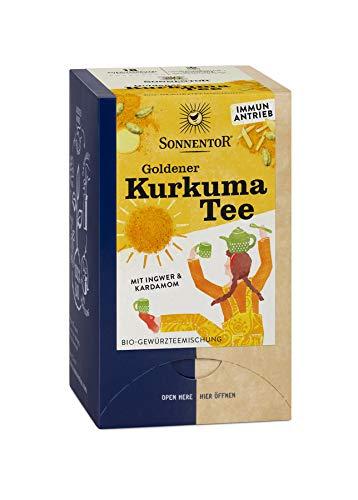 Sonnentor Bio Goldener Kurkuma Tee bio Doppelkammerbeutel (1 x 36 gr)