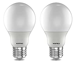 Wipro Garnet 3W E27 CAP LED BULB 2700K (Warm White/Yellow) - Pack of 2