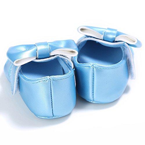 ESTAMICO , Baby Mädchen Lauflernschuhe Blau