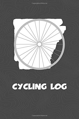 Cycling Log: Arkansas Cycling Log for tracking and monitoring your workouts and progress towards your bicycling goals. A great fitness resource for ... Bicyclists will love this way to track goals!