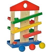 Eichhorn 100002025 - Circuito de bolas en madera, 25 x 12 x 34 cm (Simba Dickie)