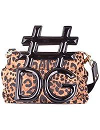 Dolce   Gabbana Borsa A Mano Donna MCBI099391O Pelle Marrone 0de27f8d3e9