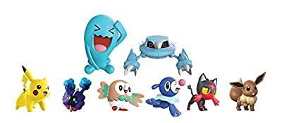 Pokemon - Multipack 8 Figuras (Bizak, 63225320) de Bizak