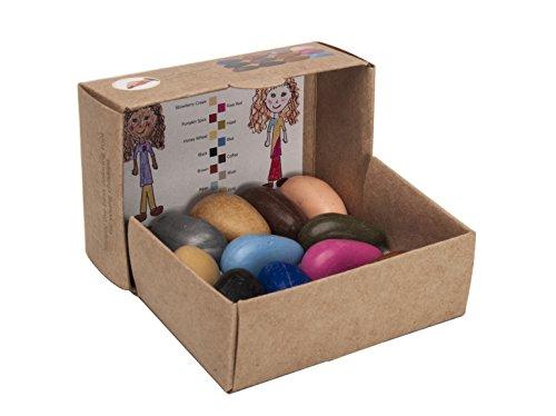 Crayon Rocks People Pebbles 12 Colours