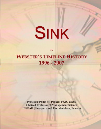 Sink: Webster's Timeline History, 1996-2007