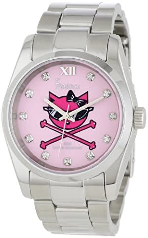 Freelook Femme HA5304-5C Viceroy Kitty Pink Dial Stainless-Steel Case and Bracelet Montre
