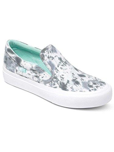 DC Shoes Trase J Shoe, Sneakers basses femme Gris