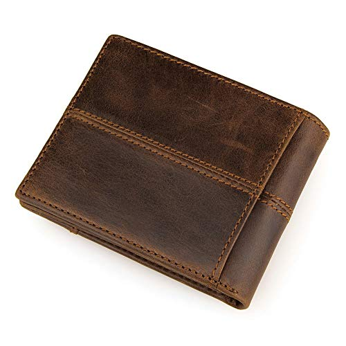 Card Nlj Bag Purse Wallet Handmade 100Leather Men Yms Foldable BtshQdCrx
