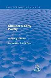 Chaucer's Early Poetry (Routledge Revivals)