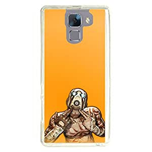 a AND b Designer Printed Mobile Back Cover / Back Case For Huawei Honor 7 (HON_7_1535)