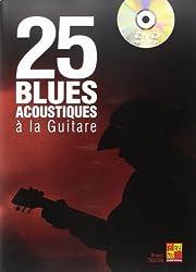 Tauzin Bruno 25 Blues Acoustique Guitar Book/Dvd