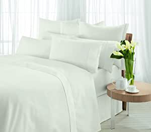 Sheridan, Fitted Sheet Single, 300tc Egyptian Blended Cotton, Sand