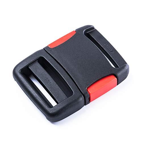 2 Stück Hochbelastbare Steckschnalle, Gurtschnalle -HB/40- für 40mm Gurtband