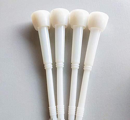 DyNamic 4 Stück Weiß Silikon Gummi Liner für Kuh Melkmaschine Silikon-liner