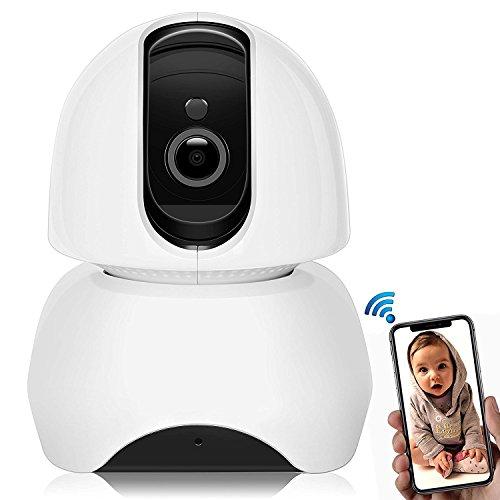 1080P WiFi Homematic IP Kamera, Mini Wlan Cam, Überwachungskamera, Wlan Innen Wecam, Nachtsichtkamera mit Bewegungsmelder, Wirless Kamera mit Bewegungssensor, Homematic Fernbedienung, Nachtsicht, Bewegungsmelder innen, Topgio (1080P Kamera)