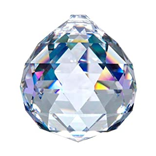 40mm Asfour Crystal Ball Prisms #701-40 (Clear)