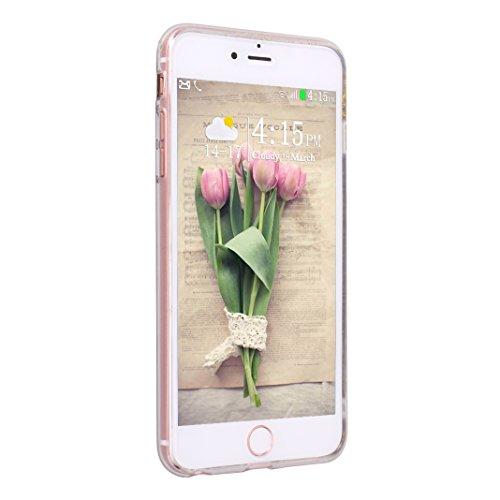 iPhone 6S 6 Hülle, Asnlove 2er Premium TPU Silikon Bling Glitzer Schutzhülle für iPhone 6 6S Handyhülle Schale Etui Protective Case Cover Design Grün/Lila Pink