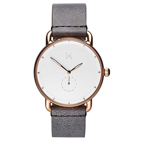 MVMT Herren Chronograph Quarz Uhr mit Leder Armband D-MR01-RGGR
