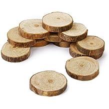 rodajas de troncos de madera natural decm discos para boda diy pcs
