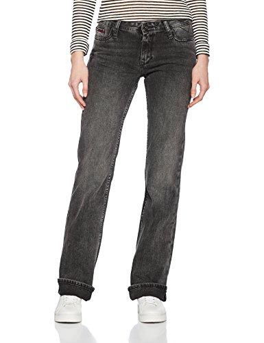 Tommy Jeans Damen MID RISE BOOT SANDY SPBL  Boot-Cut Jeans Schwarz (Splash Black 911) W27/ Preisvergleich