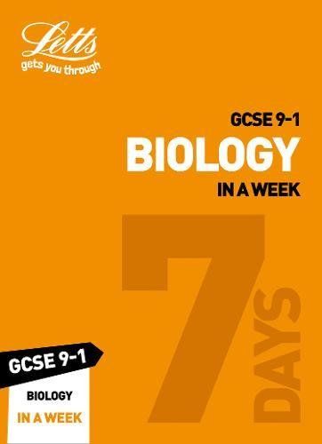 GCSE Biology In a Week (Letts GCSE 9-1 Revision Success)