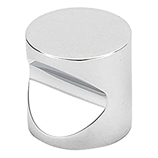 Alno A823-34-PC Contemporary I Modern Knobs, 3/4, Polished Chrome by Alno