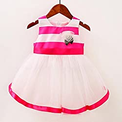 Infants Princess Dress, Transer® Baby Girls Trendy Dress 0-24 Months Kids Clothes born Toddler Girls Striped Dress Sleeveless Layered Tulle Tutu Princess Dress
